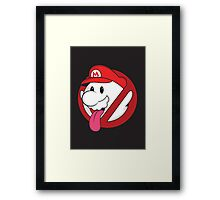 Boo ya gonna call? Framed Print