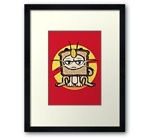Meowth Breading Framed Print
