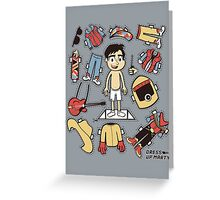 Dress up Marty Greeting Card