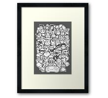 Super 16 bit Framed Print