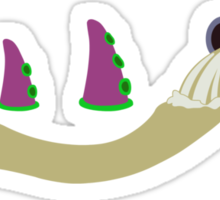 Evolution of Purple Tentacle Sticker