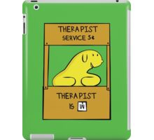 Hand Bananas Therapist Service iPad Case/Skin
