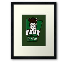 The Cook of Breaking Bad Framed Print