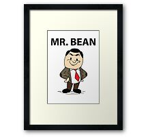 Mr. Bean Framed Print