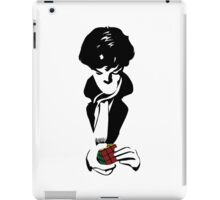 Nothing left unsolved (black) iPad Case/Skin