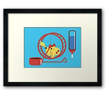 Pet Pikachu Framed Print