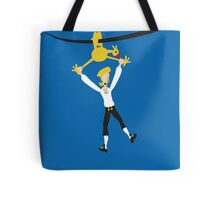 Rubber chicken with a pulley in the middle Tote Bag