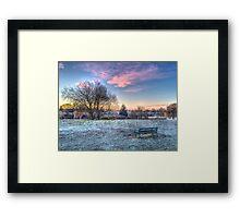 Harrowlodge Park HDR 01 Framed Print