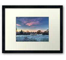 Harrowlodge Park HDR 02 Framed Print