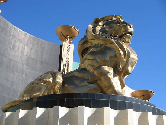 MGM VEGAS LION by suzin68