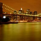 New York City Skyline at Dusk by ScottL