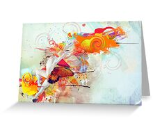 Divine Beauty Greeting Card