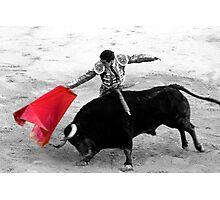 Matador and Bull. 3 Photographic Print