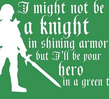 Hero in Green by geekerymade
