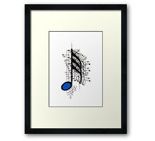 The Sight of Music (8) Framed Print