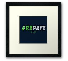 REPETE Framed Print