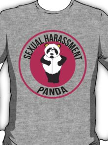 Sexual Harassment Panda T-Shirt