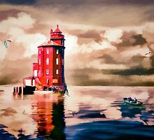 Harbour Light by Wib Dawson