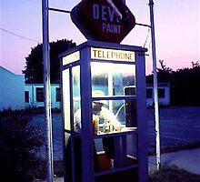 Phone booth by Daniel Sorine