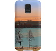 Colorful winter wonderland sundown VI | landscape photography Samsung Galaxy Case/Skin