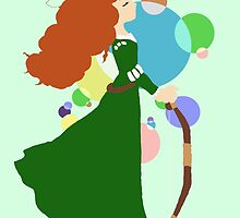 Merida the Archer by cantabile