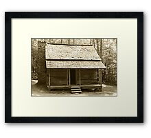 John Ownby's Cabin II Framed Print