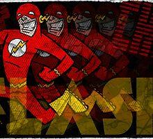 The Fastest Man Alive! by joshatomic