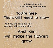 A little fall of rain by mrsthornton