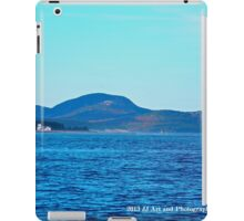 Maine - Lighthouse and Cadillac Mountain iPad Case/Skin