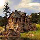 Chapel on the Rock, St. Malo, Mt. Meeker by Michael Schaefer