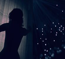 The light curtain never falls  by Lea Henning