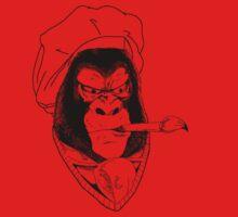 Gorila pintor by DibujaconMadao