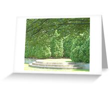 Park Steps Greeting Card