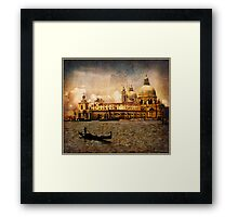 Painted Venice Framed Print