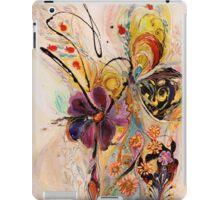 The Splash Of Life. Composition 2 iPad Case/Skin