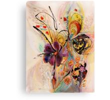 The Splash Of Life. Composition 2 Canvas Print