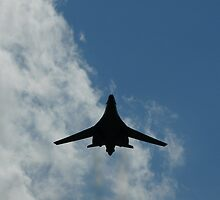 B-1B bomber, USAF at the Farnborough Airshow 2008 by bigbizarre