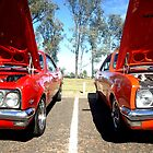 Orange Red Monaro by Nathan Horswill
