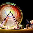 Birrarung Mar Ferris Wheels by Aaron  Sheehan