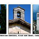 Montefalco Series #11 – Churches big and small, old and ancient. by Keith Richardson