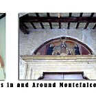 Montefalco Series #12 – Many doorway arches are decorated with old religious frescos by Keith Richardson