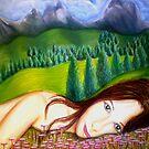 """Amy's Travels - Pastels by Belinda """"BillyLee"""" NYE (Printmaker)"""