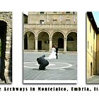 Montefalco Series #15 – The archway is so typical of old stone buildings. by Keith Richardson