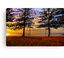 Swing Time  - Whale Beach - Sydney Beaches  - The HDR Series Canvas Print