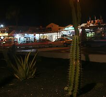 Puerto del Carmen Night by Allen Lucas