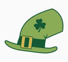 Green Irish Leprechaun hat by jazzydevil