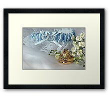 Wedding Bands Framed Print