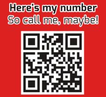 Call me maybe - QR CODE Collection 1 by donan