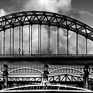 Bridges Over the Tyne by Anna Ridley