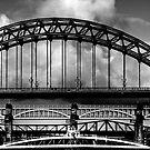 Bridges Over the Tyne by Anna Ridley